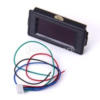 Free Shipping 3 1/2 Digital Red LED 200 ohm Resistance Panel Meter
