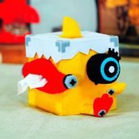 Material kit handmade diy punk paper pumping box tissue box  free shipping