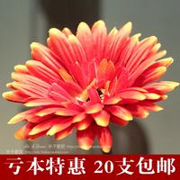 free shipping Rustic furnishings floor artificial flowers  silk flower decoration flower  single wool pole