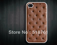 Free Shipping Ice Cream Sandwich Design Hard Cover Case for iPhone 4/4S