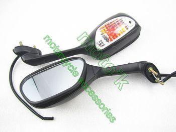 2013 hotsell high quality motorcycle spare parts rear mirror for SUZUKI GSXR600 GSXR750 GSXR1000 09-10 K9 free shipping