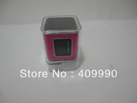 Free Shipping,300pcs/lot New Angel A89 Dual-Speaker Audio with FM Radio and LED Screen,Support TF Card / USB Drive