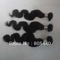 Free Shipping 3pcs/lot 5A quality brazilian hair extension natural colo body wavy 100% virgin remy brazilian hair