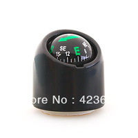 Free Shipping 10pcs/Lot Mini Spherical Compass with Holder