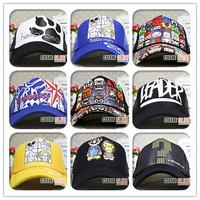Summer male women's truck cap truck cap baseball cap hat net sunbonnet