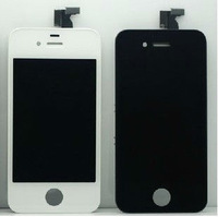Original 100% Guaranteed For iPhone 4s LCD Display+Touch Screen Digitizer Glass+Frame Assembly,Black/White  DHL+5pcs