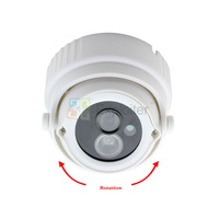 "1/3"" Sony 420/480/540/600/700 TVL 1 Big Power LED IR Security CCD CCTV Digital Dome Camera Free Shipping"