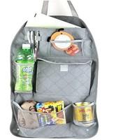 free shipping Car Multi Back Seat Pocket Storage Organiser Bag Bamboo charcoal
