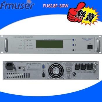 Fu618f-30w fm stereo broadcast transmitter actuator car
