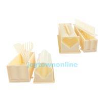 DIY Sushi Maker Rice Mold Kitchen Sushi Making Tool Set Pack of 11 #1JT
