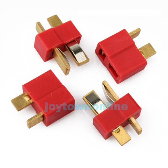 For Deans RC Lipo Battery Helicopter 10 Pair T Plug Connectors Male Female #1JT(China (Mainland))