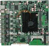 D525 Firewall Motherboard With 6*Intel 82583V Lan,DC 12V