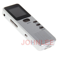 Real 4GB Mini Rechargeble Stereo Digital Voice Recorder Dictaphone