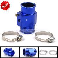 Alloy Water Temperature Gauge Joint Pipe Radiator Hose Sensor Adaptor 28mm/30mm/32mm/34mm/36mm/38mm/40mm Red/Blue Color CZ10C