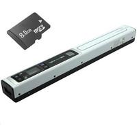 Free Shipping!!8GB Skypix TSN451 Lion-Battery 900 DPI Handheld Portable Photo A4 Scan Scanner