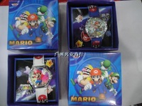 Free shipping Cartoon Watch Super Mario Watch kids Watch Children watch with free box