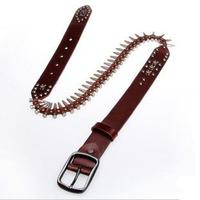 free shipping western men/women real leather belt ,fashion the single bullet belts,Pin buckle belts