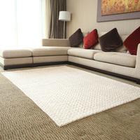 The face rectangle fashion blending beige carpet tea flower large