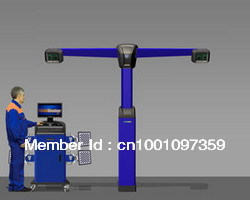 2013 latest 3D Wheel Aligner for Auto Tire Tools(China (Mainland))