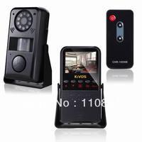 Free Shipping KIVOS KVA01 2.4'' Display Screen Intelligent Infrared Detection Home Video Alarm camera