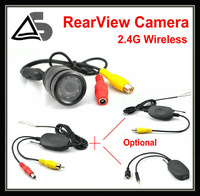Car DVD GPS 2.4G Wireless Transmission Car Rearview System Backup Camera,  Wide Angle HD+Waterproof
