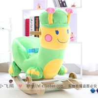 Child baby toy rollaround horse small horse musical caterpillar dual rocking chair