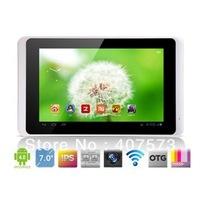 Free shipping 7 inch Ramos w28 DUAL CORE IPS screen Tablet PC 1.5Ghz CPU 1G RAM 8G Flash 1280x800 IPS WiFi webcam 1080P