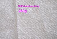 150cm width  high quality 100%bamboo terry fabric babmoo material  natural fiber fabric 3M/lot