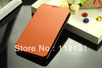 Free Shipping The Samsung Galaxy note n7000 i9220 back cover flip leather case 50pcs/lot=40pcs case+10pcs screen protector