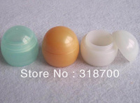 Free shipping - DIY 5G Dispaly case, 5ml shown case, 5cc cosmetic container,5g clear plastic cream jar