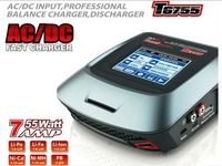 Original SKYRC  T6755   AC  DC Fast Inteligent Battery Balance Charger with  Input Touch Screen 55W 1-6S Charger/ supernova sale