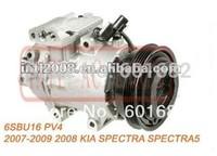 Compressor ar Condicionado 6SBU16 2007-2009 KIA SPECTRA SPECTRA5 12V 4PK  wholesale and retail