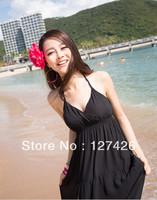 high end fashion !On Sell Bohemia Summer Long Beach Chiffon Dress  Dress+ free shipping