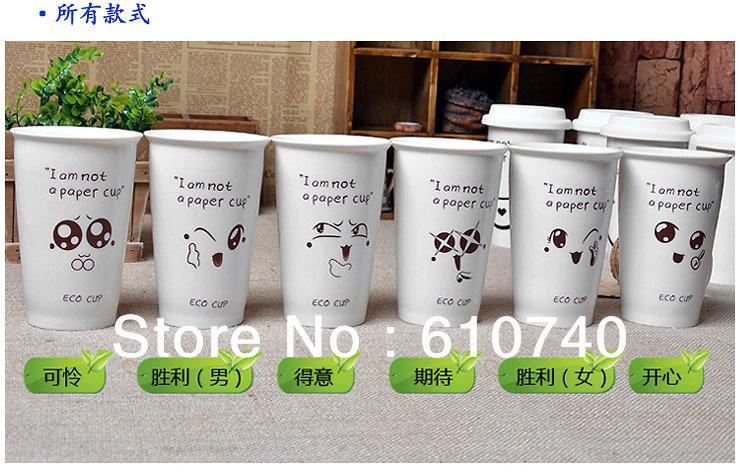 2013 fashion cute cartoon lovers cup ceramic coffee mugs expression(China (Mainland))