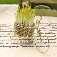 Free Shipping New Mini Office Plants DIY Bonsai Love Bike Creative Gifts