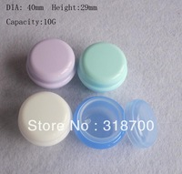 Free shipping- Hight quality 10g cream bottle,cosmetic container,pp jar cream jar,cosmetic packaging