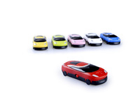 Free shipping Mini Car MP3 Player 6 Colors 10pcs/lot,Support SD Card Expansion