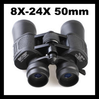 MYSTERY 8X-24x 50mm ZOOM 195FT/1000YDS Binocular