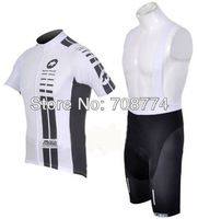 2013 ASSOS Fast Shipping Best Selling Newest Cycling Jersey(Upper)+Bib Short(Lower)/Made Of High Quality Polyester/Italy Ink