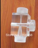"Free shipping Plexiglass 3/4"" ozone venturi injector ,ozone injector and mixing tubing 1pcs/lot"