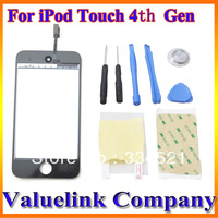 Front Glass Touch Screen Digitizer Replace iPod Touch 4 4th Gen 4G + tools kits+ Free Shipping + US Stock  MA0319