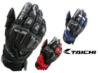 RS TAICHI RST369 motorcycle side shell carbon fiber from riding leather racing gloves