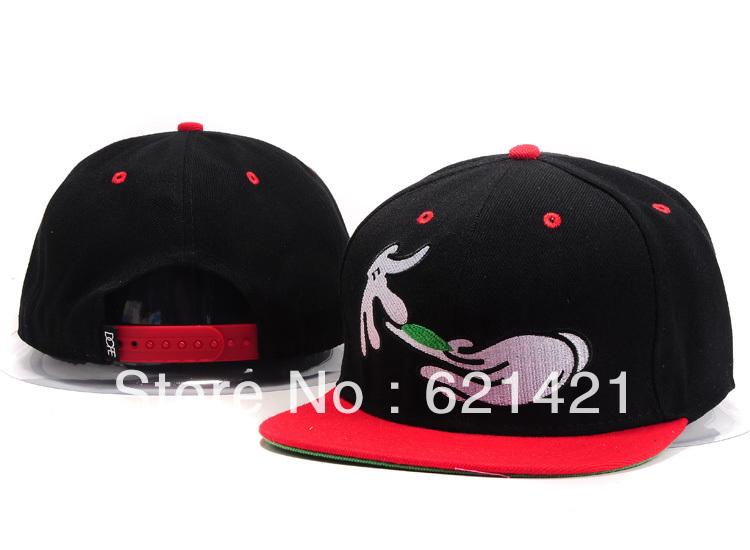 Wholesale - New arrival street snapback hat cap snapbacks snap back hats cap cheap caps i love hates red color(China (Mainland))
