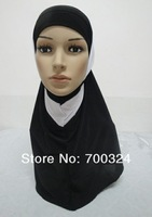 H567c fashion two pieces hijab,free shipping,assorted colors