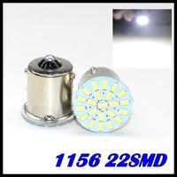 Wholesale Free Shipping S25 22SMD 1156 BA15S 1210/1206 Auto Car Turn Lamp Brake Tail Parking Light