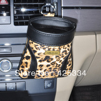 Brand New leopard Car Storage Pouch Bag Cell Phone Pocket Car Organizer Interior