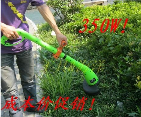 Portable electric mower lawn mower grass cutting machine weeding machine grass trimmer 15 meters grass rope(China (Mainland))