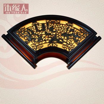 Chinese style wall lamp antique lamps classical wall lamp living room lights hall lamp carved wood lamp hotel lamp