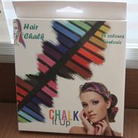 FREE SHIPPING+Temporary Color Hair Chalk 24 colors Salon Kit 24pcs/Set  Wholsale/retail