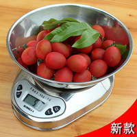 stainless steel belt pallet electronic scale household scale kitchen scale food scale 1g 5kg